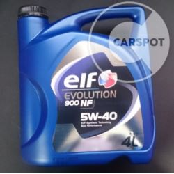 Elf Evolution 900 NF 5w40 / Excellium LDX 4L