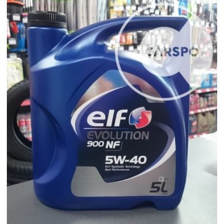 Elf evolution 900 NF 5w40 / Excellium LDX 5L